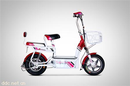 小刀佳丽双动力电动自行车
