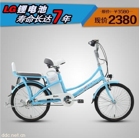 锂电池电动车-上海捷路锂电电动自行车公司