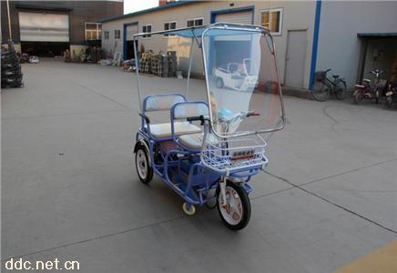 乐的电动三轮车-乐购带车棚