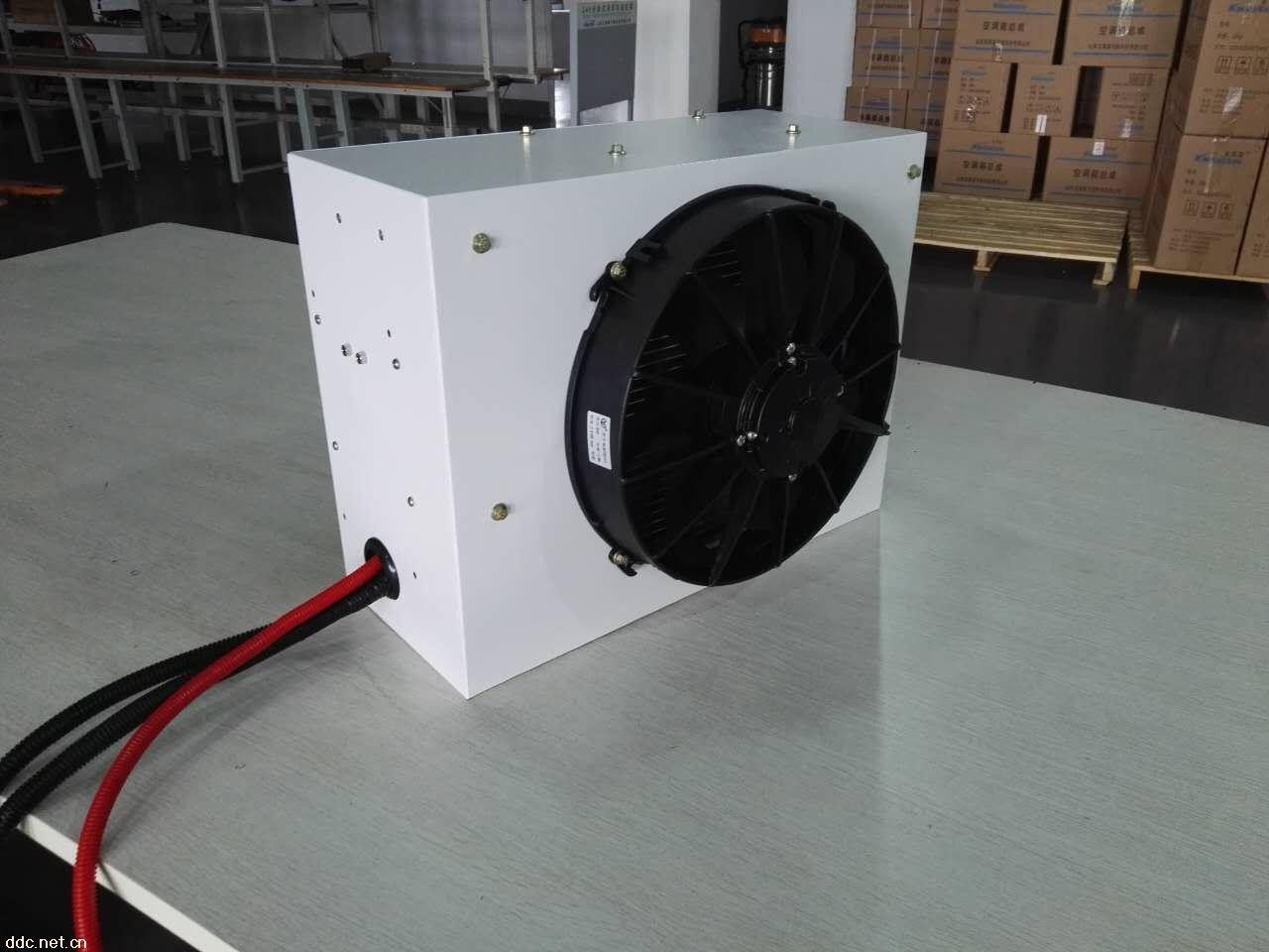 改装卡车货车车载顶置12v 24v冷暖一体电动空调