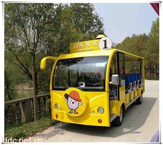 旅游景区公园四轮23座游览车