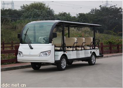 新款14座高配电动旅游观光车