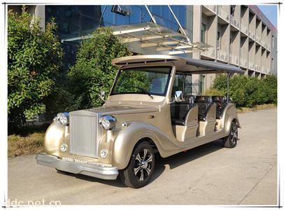 品牌12座電動香檳金老爺觀光車