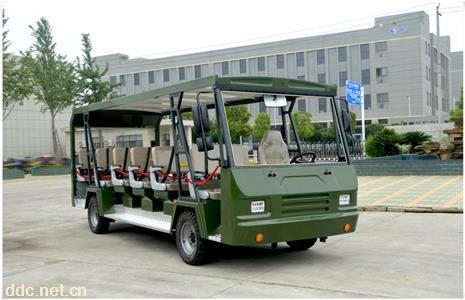 新款23座观光车厂家直销旅游景区公园度假村休闲观光电瓶车图片
