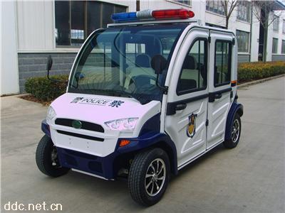武汉4座电动封闭巡逻车封闭电动巡逻车四轮电瓶巡逻车价格