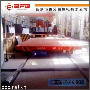格栅式台面KPT拖电缆供电喷砂房转运设备电动平车