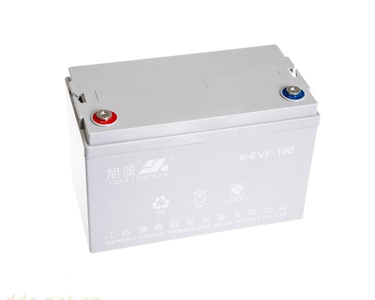 旭派6-EVF-100电动道路车铅酸蓄电池