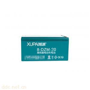 旭派电池8-DZM-20电动车电池