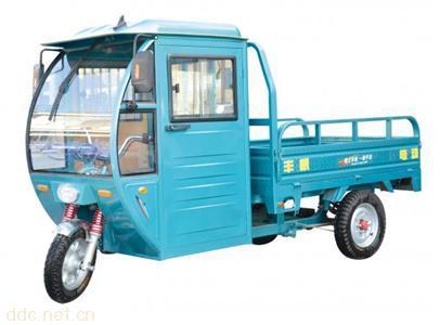丰帆电动三轮车水电瓶棚车