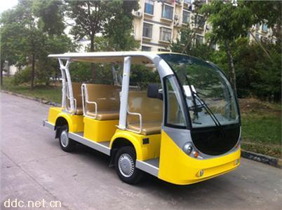 山东景区首选电动11座旅游观光车