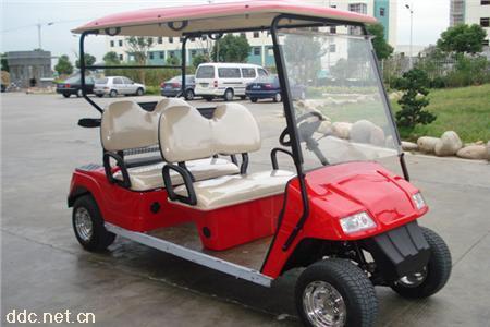 4座电动高尔夫球车