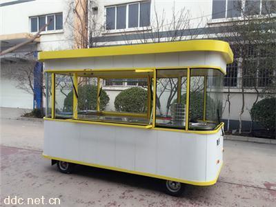 供应电动餐车  电动小吃车   流动餐车