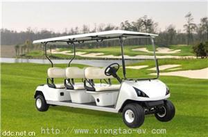 观光用6座电动高尔夫球车