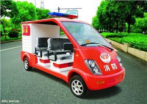 雄韬-4座电动消防车