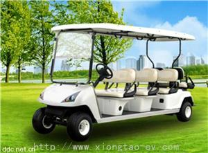 6+2座电动高尔夫车