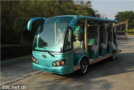 雄韜豪華款航空座椅14人電動游覽觀光車