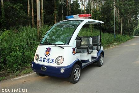 雄韬-物业用执法用4座电动巡逻警车