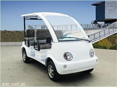 电动4座观光车车型小巧灵活