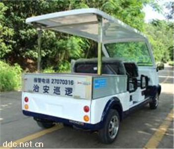 两排座保安物业巡逻车皮卡车