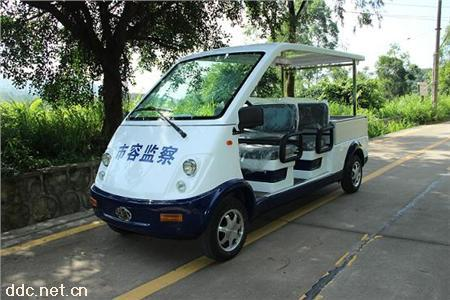 4座电动带货斗巡逻车