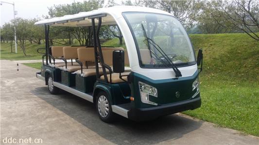 新款油电混合观光车