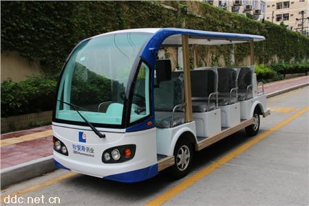 主題公園用電動11座觀光車