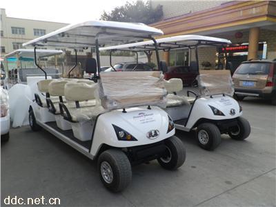 机场地勤用6座高电动尔夫球车