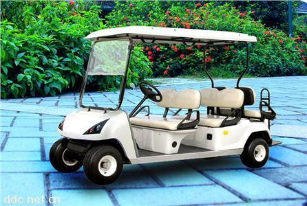 雄韬4+2电动高尔夫球车观光车