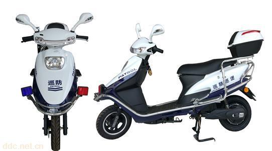 2轮电动巡逻车电动摩托车