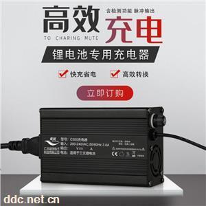 广州谐同C300电动车三元锂电池专用充电器
