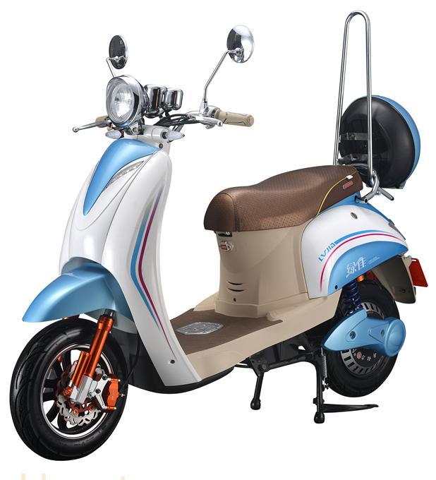 绿佳电动摩托车优美