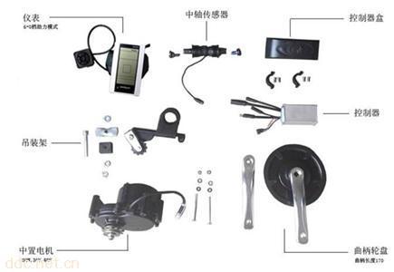 中置电机系统