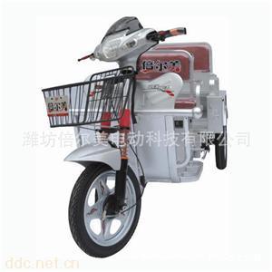 单排载重电动三轮车