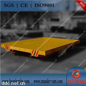 装载机械钢包运输车轨道电动平板车