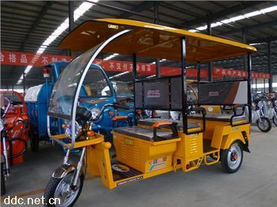 外贸出口电动三轮客运车旅游观光车