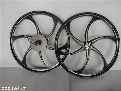镁合金26寸电动山地自行车轮组套件