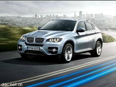 BMW高效混合动力X6