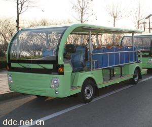 福田19座燃油观光车
