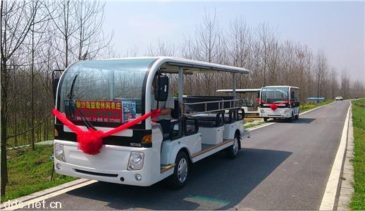 福田14座燃油观光车