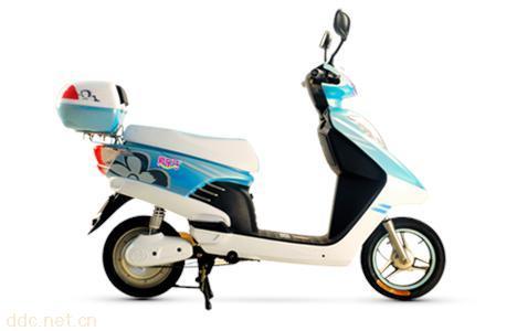 爱乐马蓝精灵电动自行车