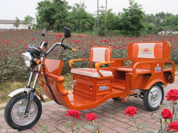 双胜电动三轮车a款1.0米大折叠橙色