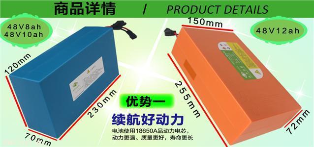 卓能新能源48V锂电池米格电池