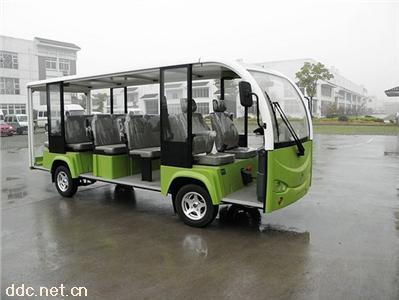 利凯士得11座敞开式电动游览车