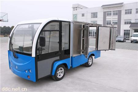 2人座电动送餐车