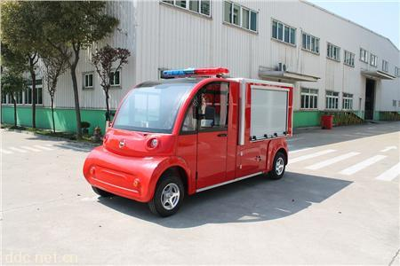 带水箱电动消防车
