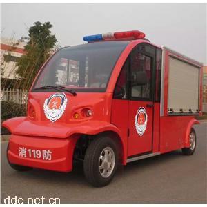 四轮电动消防车带1吨水箱