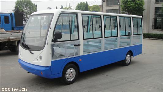 新能源科技电动观光车带门