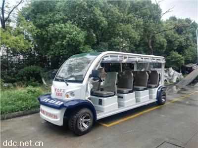 旅游观光游览四轮电动车11座