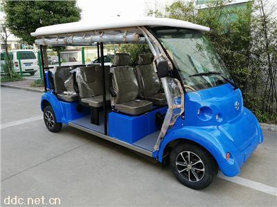 纯铝合金车架电动观光游览车