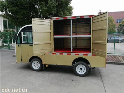 校园电动保温送餐车